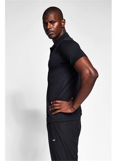 Lescon Siyah Erkek Polo Yaka T-Shirt 21S-1297-21N Siyah